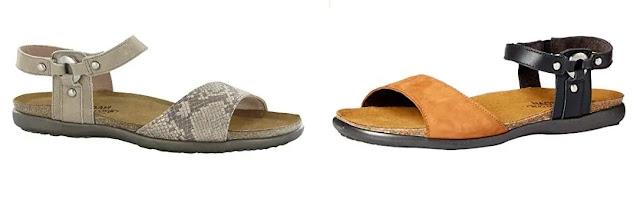 Naot Sabrina flat sandal women review
