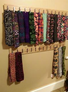 organizador de lenços