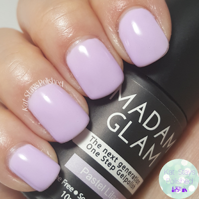 Madam Glam One Step Gel - Pastel Lilac | Kat Stays Polished