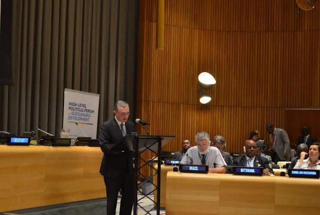 Canciller armenio pronuncia discurso en FAN de la ONU