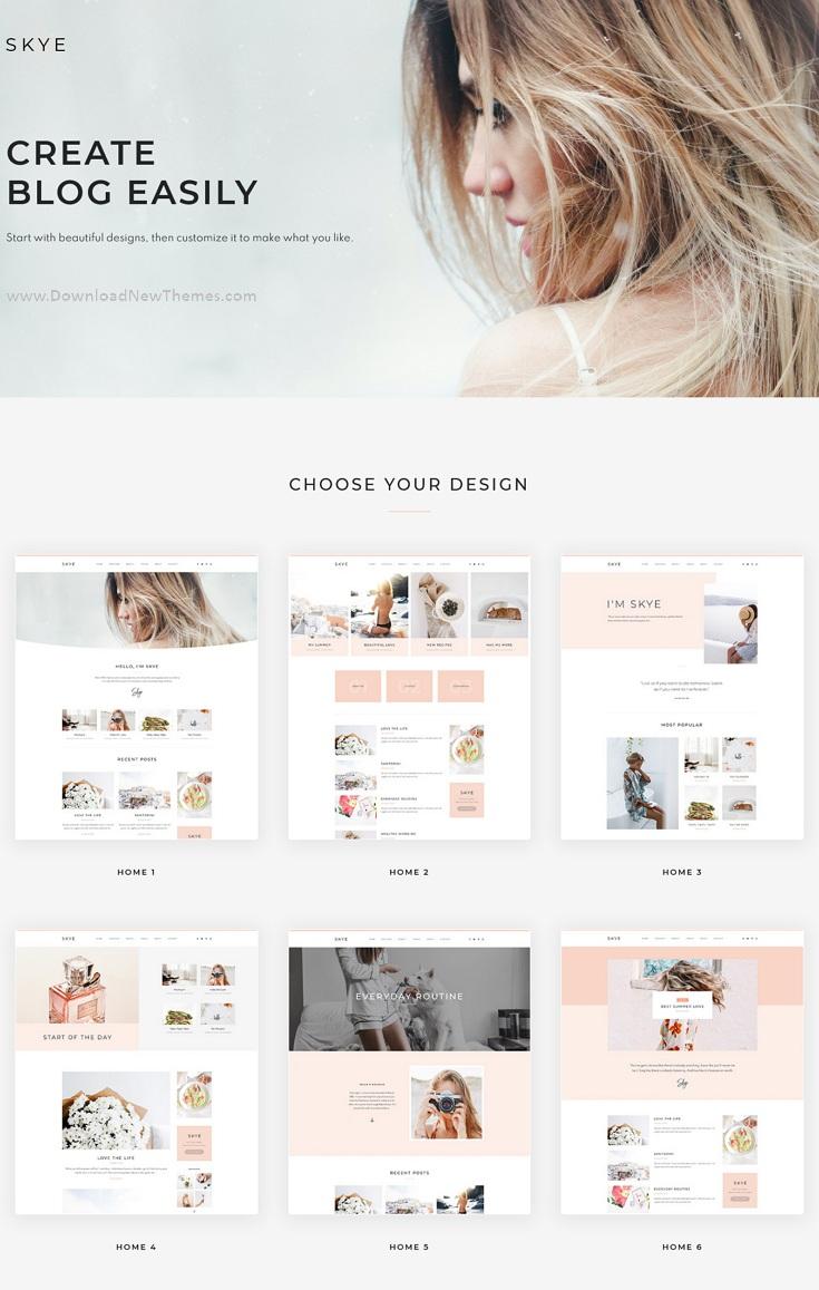 Modern Blog Elementor Template Kit