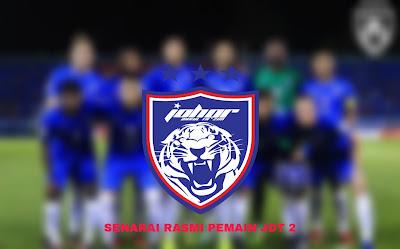Senarai Rasmi Pemain JDT 2 2020 Liga Perdana