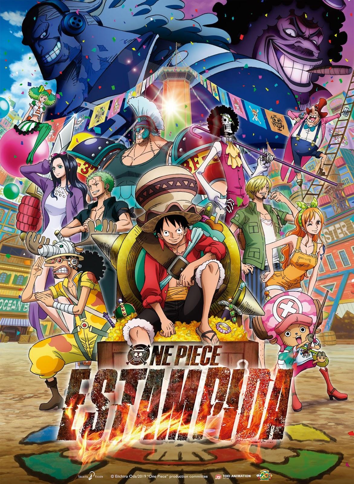 One Piece: Estampida (2019) |Castellano/Japones + Sub. Esp| |HD Ligero 720p| |Pelicula 14| |Mega|