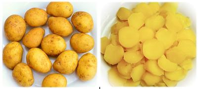 Potato: Remove dark circles in 7 days