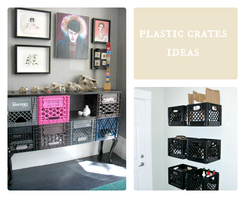 plastikowe skrzynki