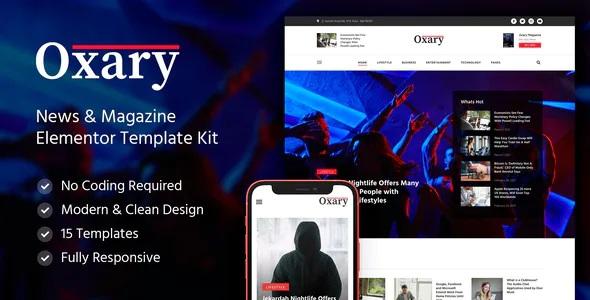 Best News & Magazine Elementor Template Kit