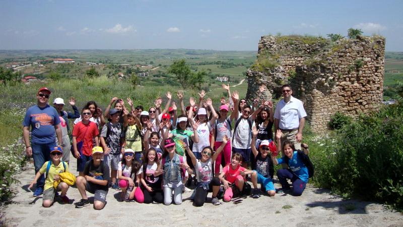 Το 1ο Πειραματικό Δημοτικό Σχολείο Αλεξανδρούπολης στο Κάστρο του Διδυμοτείχου