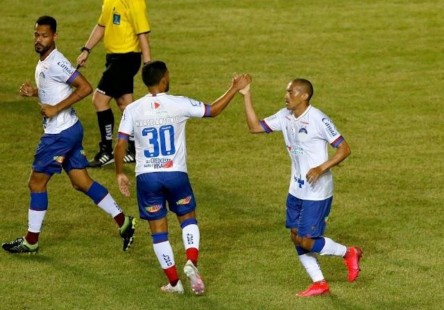 Com facilidade, Bahia goleia o Náutico e time alvirrubro está eliminado do Nordestão