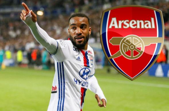 Alexandre Lacazette Akan Bergabung Dengan Arsenal
