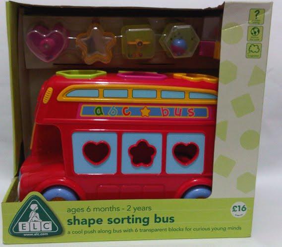 Www Bebekidsworld Com Elc Shape Sorting Bus
