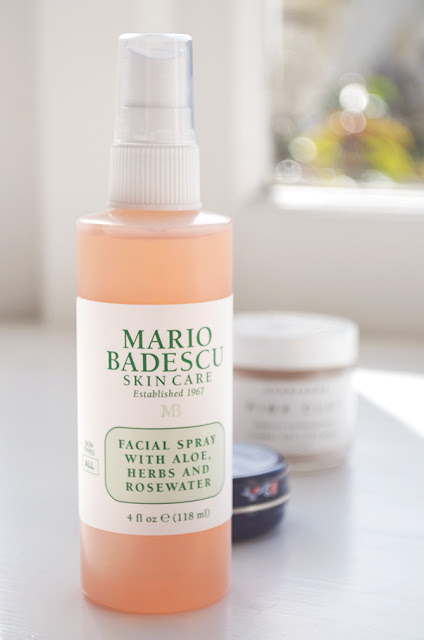 Mario Badescu Skincare Rosewater and Aloe Herbs Facial Spray Toner