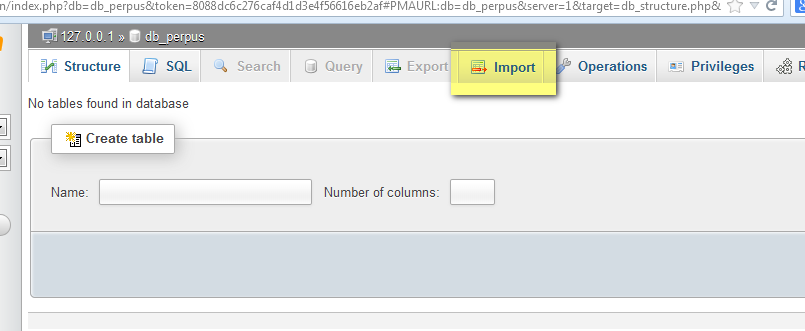 Cara Import Database MySQL PhpMyadmin