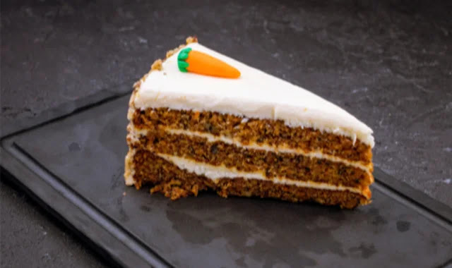 A recipe to prepare carrot cake in a healthy way