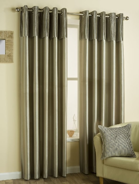 Yorkshire Linen classic velvet mink curtains