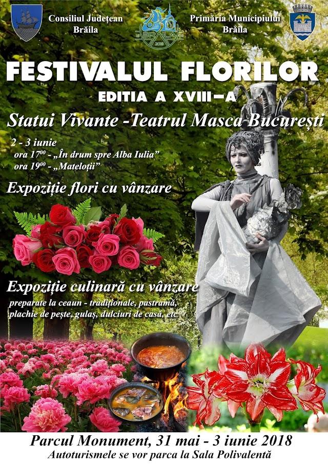 FESTIVALUL FLORLOR LA BRAILA, 2018