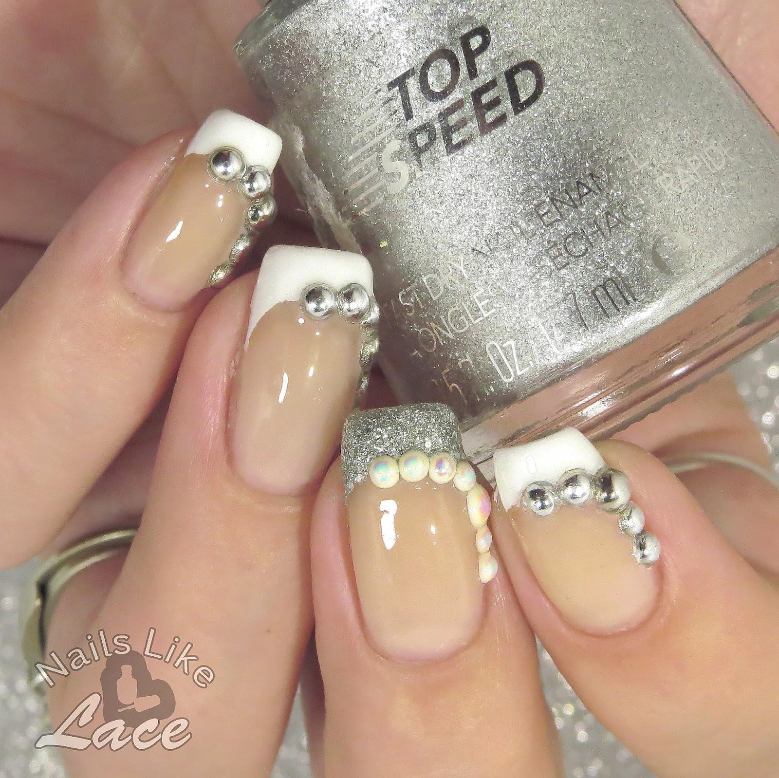 Nailslikelace 40 Great Nail Art Ideas Wedding Nails