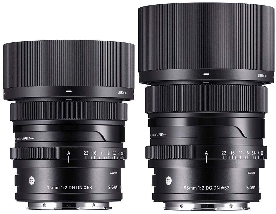 Объективы Sigma 35mm f/2 и Sigma 65mm f/2