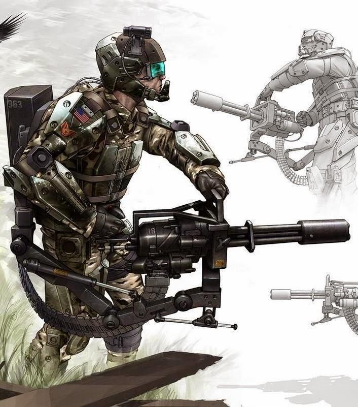 Future War Stories: FWS Topics: Combat Exoskeletons Military Exosuit