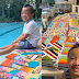 7-year-old boy sells his paintings to raise funds for sick classmate