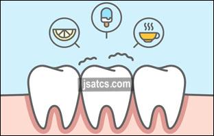 علاج حساسية الأسنان في المنزل بعد التبييض