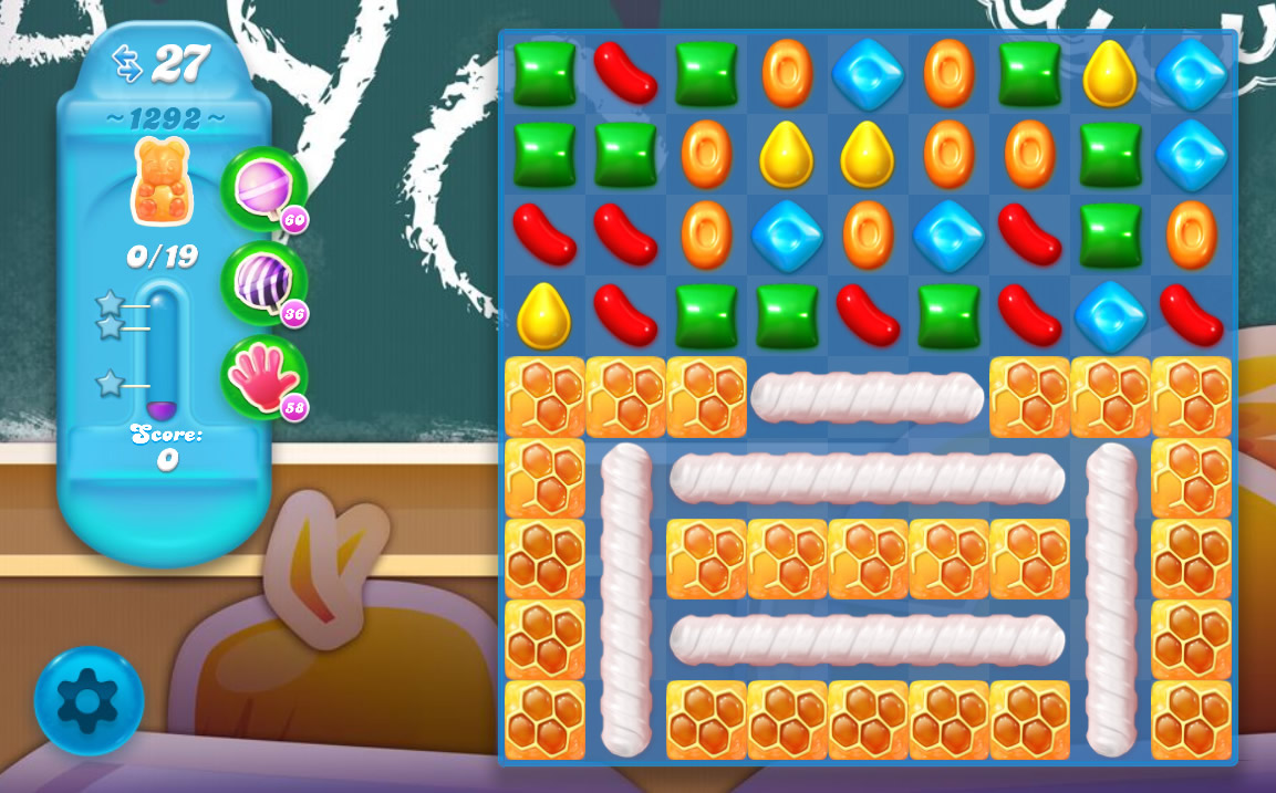 Candy Crush Soda Saga level 1292