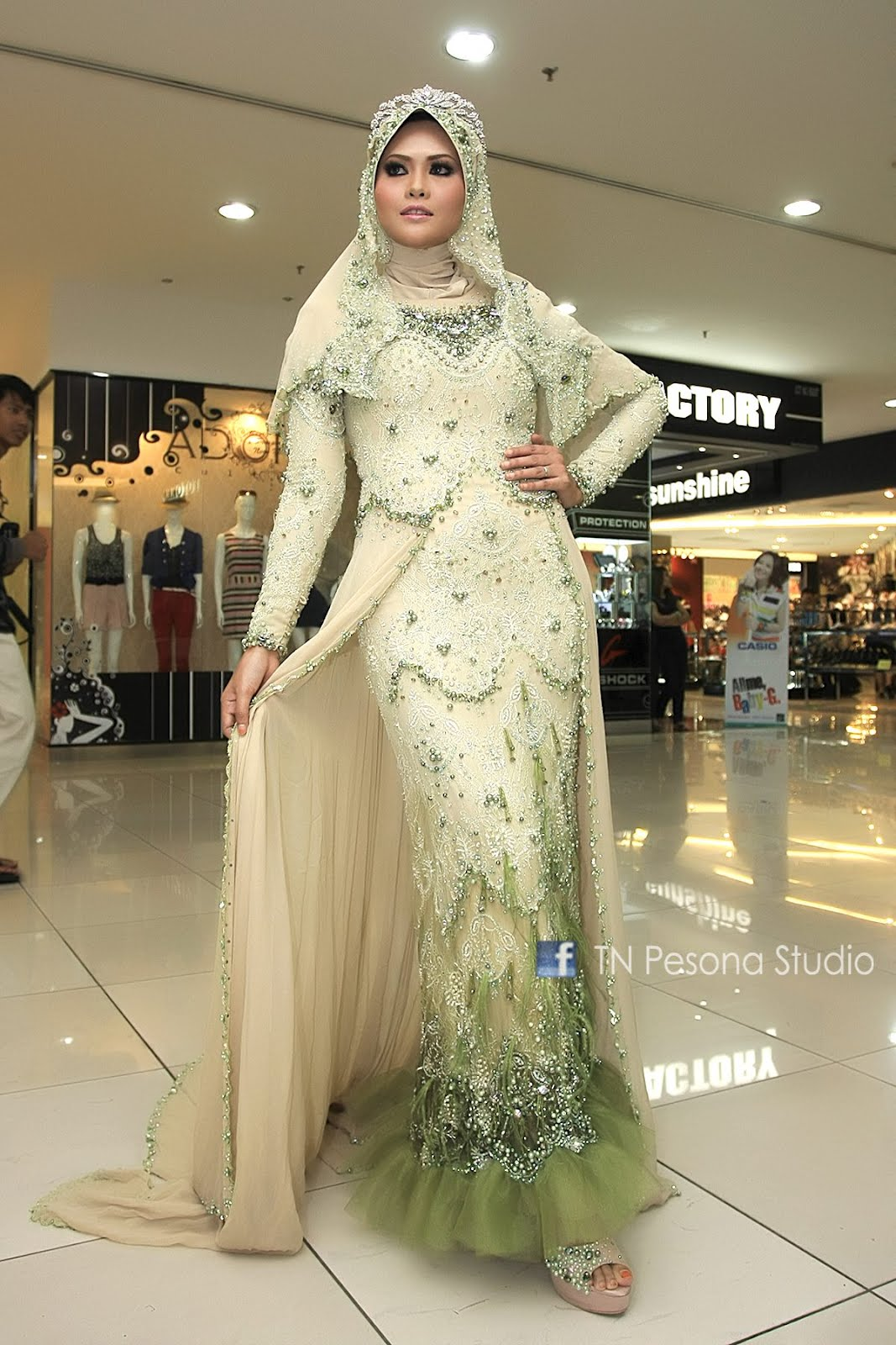 Finale Ice Islamic Fashion Show Busna Pengantin