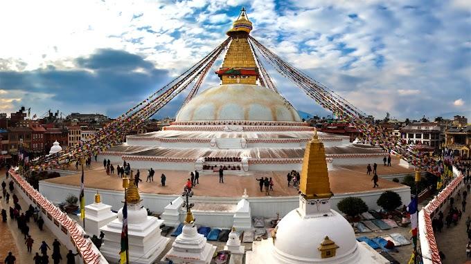 Bouddhanath Stupa in Nepal