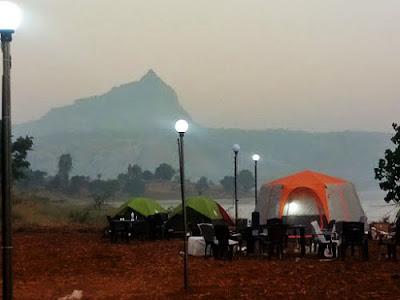 Pawna premium camping