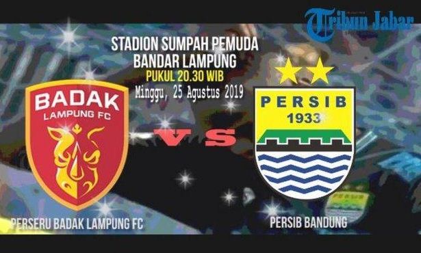Prediksi Badak Lampung vs Persib Bandung - Minggu 25 Agustus 2019