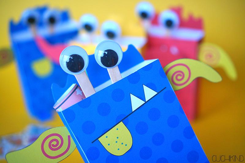 Cuchikind - DIYs für Kinder: Einladungen zur Monsterparty ...