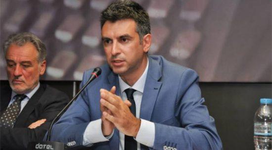 Στο Γενικό Συμβούλιο του ΣΘΕΒ ο Γενικός Γραμματέας Δημοσίων Επενδύσεων & ΕΣΠΑ Δημήτρης Σκάλκος