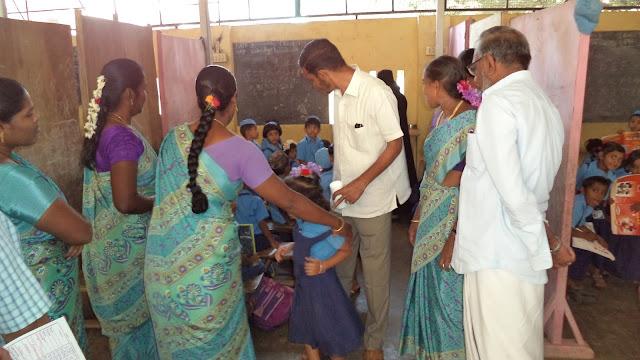 இமாம் கஸ்ஸாலி மெட்ரிக் மேல்நிலைப்பள்ளியில் தேசிய குடற்புழு நீக்க நாள்
