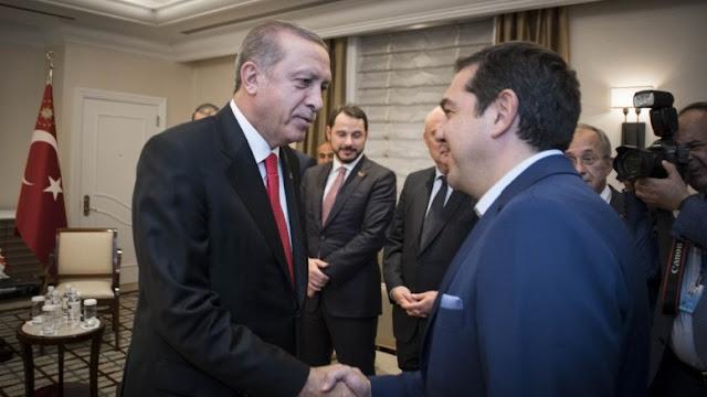 Ο Ερντογάν απέφυγε συνάντηση με Τσίπρα για Κυπριακό