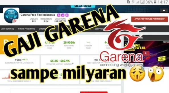 Berapa Gaji Garena Free Fire
