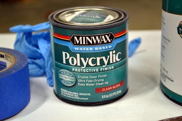 Minwax Polycrylic Protective Finish Clear Gloss