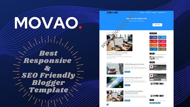 Movao Pro – Premium Blogger Template ডাউনলোড করুন ফ্রীতে!