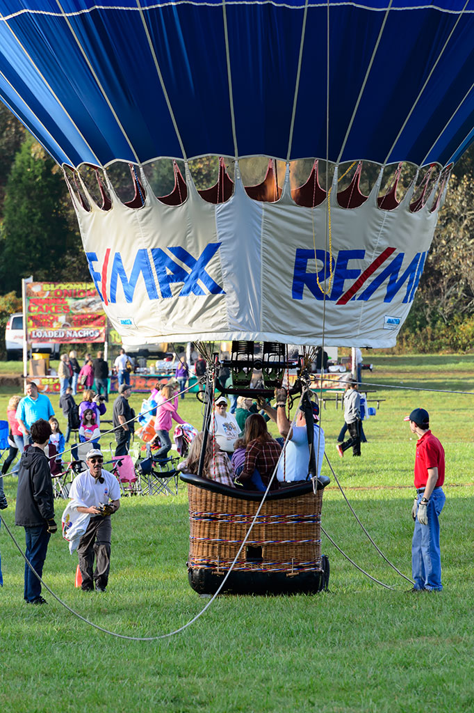 ReMax tethered hot air balloon rides