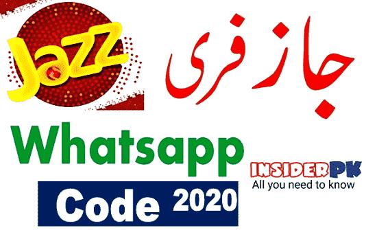 Jazz free whatsapp without balance code 2020
