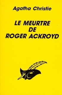 Le meurtre de Roger Ackroyd - Agatha Christie