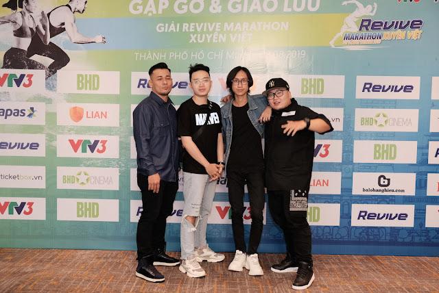 Hàng loạt sao đến tham dự sự kiện Revive Marathon Xuyên Việt 18