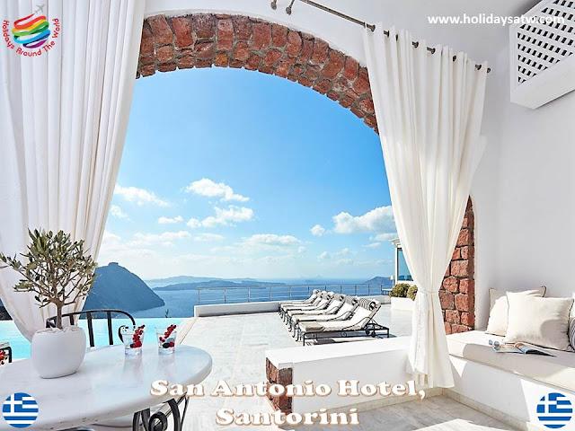 Best 4 star hotels in Santorini