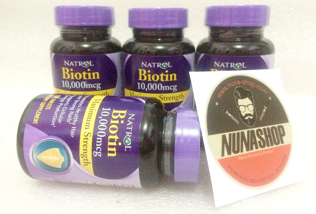 Biotin 10000 mcg By Natrol - 100 Tablets Extra Strength