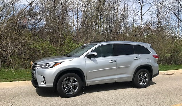2017 Toyota Highlander Limited Review