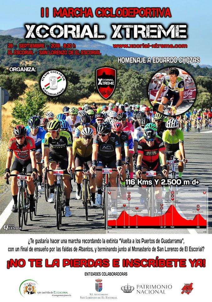 Vuelve la Xcorial Xtreme el 29 de septiembre con homenaje a Eduardo Chozas