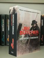 """""""Opowieść o duchach"""" Jim Butcher, fot. paratexterka ©"""
