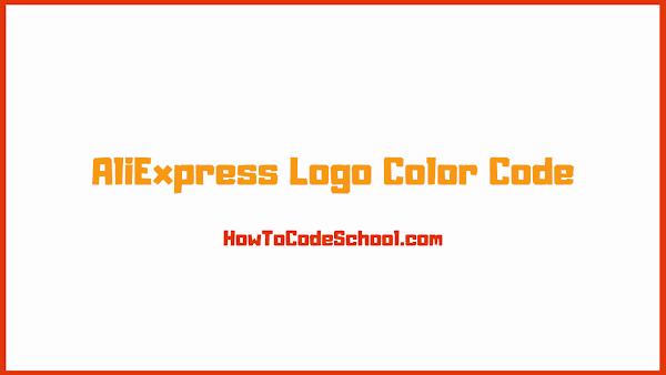 AliExpress Logo Color Code