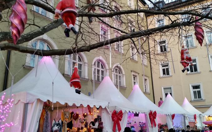 Pinker Weihnachtsmarkt.Kunst Kultur Blog Aus Munchen Muenchen Weihnachtsmarkt