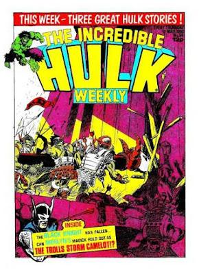 Hulk Weekly #54, the Black Knight