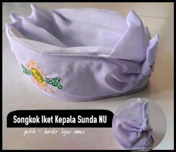 Peci Ikat Sunda Logo NU