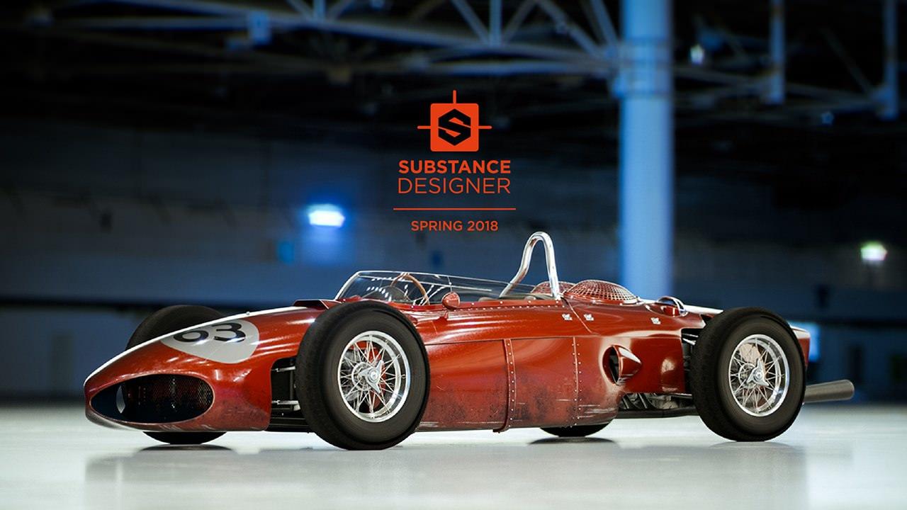 تحميل برنامج  Substance Designer 10.1.3.3687 لإنشاء سطح واقعي أو تمثيل حجمي للعناصر الطبيعية  النسخة الكاملة